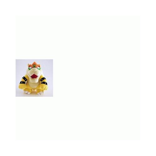 NINTENDO - Mario Bross WII - Peluche Bowser (24cm)