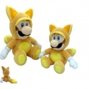 Nintendo - Peluche de Luigi en renard (Fox 33 cm)