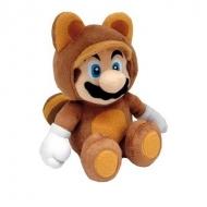 NINTENDO - Peluche Super Mario Tanooki Mario Mini 21 cm