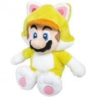 NINTENDO - Peluche Chat Mario 25cm