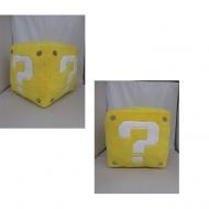 NINTENDO - Peluche cube jaune 25cm sonore