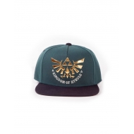 The Legend of Zelda - Casquette Snap Back Green Hyrule