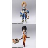 Final Fantasy IX - Figurines Bring Arts Zidane Tribal & Garnet Til Alexandros XVII 12 - 17 cm