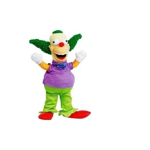 SIMPSONS - Peluche de Krusty le clown (31 cm)