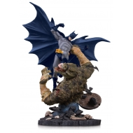 DC Comics - Statuette Mini Battle Batman vs. Killer Croc 21 cm