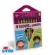 LES MATERNELLES - 8 crayons de couleurs
