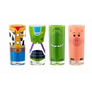 Toy Story 4 - Pack 4 verres Buzz, Woody, Rex & Hamm