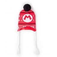 Super Mario - Bonnet de ski Super Mario Badge Laplander