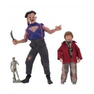 Les Goonies - Pack 2 figurines Retro Sloth & Chunk 13-20 cm