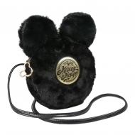 Disney - Sac à bandoulière peluche Black Collection Mickey