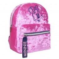 Disney - Sac à dos peluche Casual Fashion Pink Minnie 21 x 26 x 10 cm