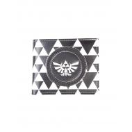 The Legend of Zelda - Porte-monnaie Triforce Black & White
