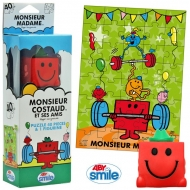 MONSIEUR MADAME - Puzzle + figurine - M. Costaud