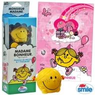 MONSIEUR MADAME - Puzzle + figurine - Mme Bonheur