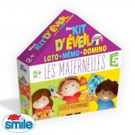 LES MATERNELLES - Jeu - Mon kit d'éveil éducatif Loto Mémo Domino