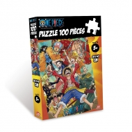 ONE PIECE - puzzle - 100pcs NEW WORLD
