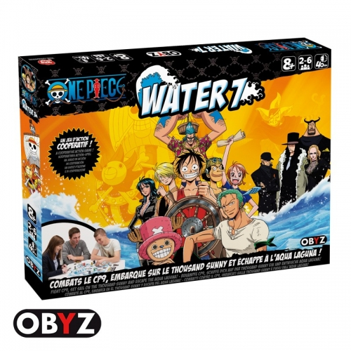 ONE PIECE - Jeu Water 7 battle