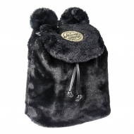 Disney - Sac à dos peluche Black Collection Mickey 23 x 25 x 12 cm