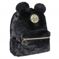 Disney - Sac à dos peluche Black Collection Mickey 28 x 33 x 12 cm