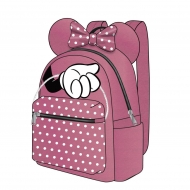 Disney - Sac à dos Casual Fashion Minnie Mouse Pink  Bow 22 x 23 x 11 cm