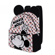 Disney - Sac à dos Casual Fashion Minnie Mouse Dots 22 x 23 x 11 cm