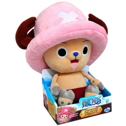 ONE PIECE - Peluche Chopper à fonction vibrante - 30 CM