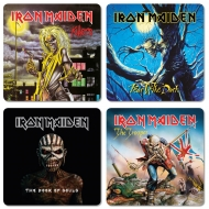 Iron Maiden - Pack de 4 sous-verres