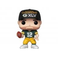 NFL - Figurine POP! Aaron Rodgers (SB Champions XLV) 9 cm