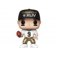 NFL - Figurine POP! Drew Brees (SB Champions XLIV) 9 cm