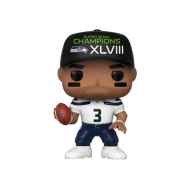 NFL - Figurine POP! Russell Wilson (SB Champions XLVIII) 9 cm