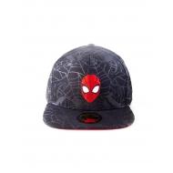 Marvel - Casquette Snapback Head Spider-Man