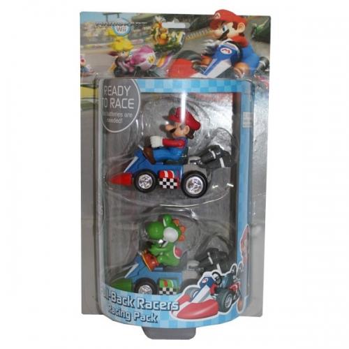 NINTENDO - Double Pack Kart à Friction Mario et Yoshi