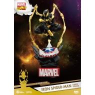 Marvel - Diorama D-Stage Iron Spider-Man Comic Version 16 cm