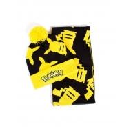 Pokemon - Set bonnet & écharpe Pikachu