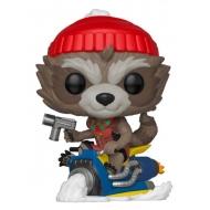 Marvel Holiday - Figurine POP! Rocket 9 cm