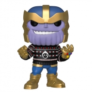 Marvel Holiday - Figurine POP! Thanos 9 cm