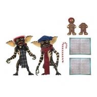 Gremlins - Pack 2 figurines Christmas Carol Winter Scene Set 1 15 cm