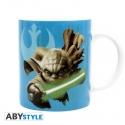 STAR WARS - Mug - 320 ml - Yoda & R2D2 - avec boîte