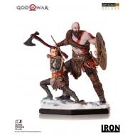 God of War - Statuette 1/10 Deluxe Art Scale Kratos & Atreus 20 cm