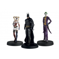 Batman Askham Asylum Hero Collection - Pack 3 figurines 1/16 10th Anniversary Box 13 cm