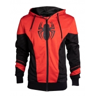 Marvel - Sweat à capuche Spider-Man Red & Black Outfit