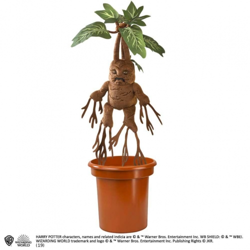 Harry Potter - Peluche interactive Mandrake 40 cm