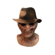 Le Cauchemar de Freddy - Masque latex Deluxe avec chapeau Freddy Krueger