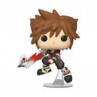 Kingdom Hearts 3 - Figurine POP! Sora avec bouclier 9 cm