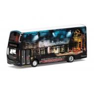 Harry Potter - Bus métal 1/76 Wright Eclipse Gemini 2 Warner Bros. Studio Shuttle