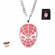 Marvel - Pendentif avec chaînette acier inoxydable Red Face Spider-Man