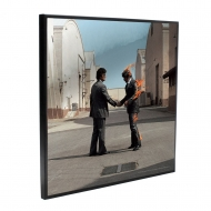 Pink Floyd - Décoration murale Crystal Clear Picture Wish You Were Here 32 x 32 cm