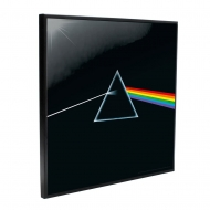Pink Floyd - Décoration murale Crystal Clear Picture Dark Side of the Moon 32 x 32 cm