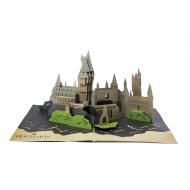 Harry Potter - Carte pop-up 3D Hogwarts Castle
