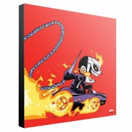 Marvel - Tableau en bois Ghost Rider by Skottie Young 30 x 30 cm